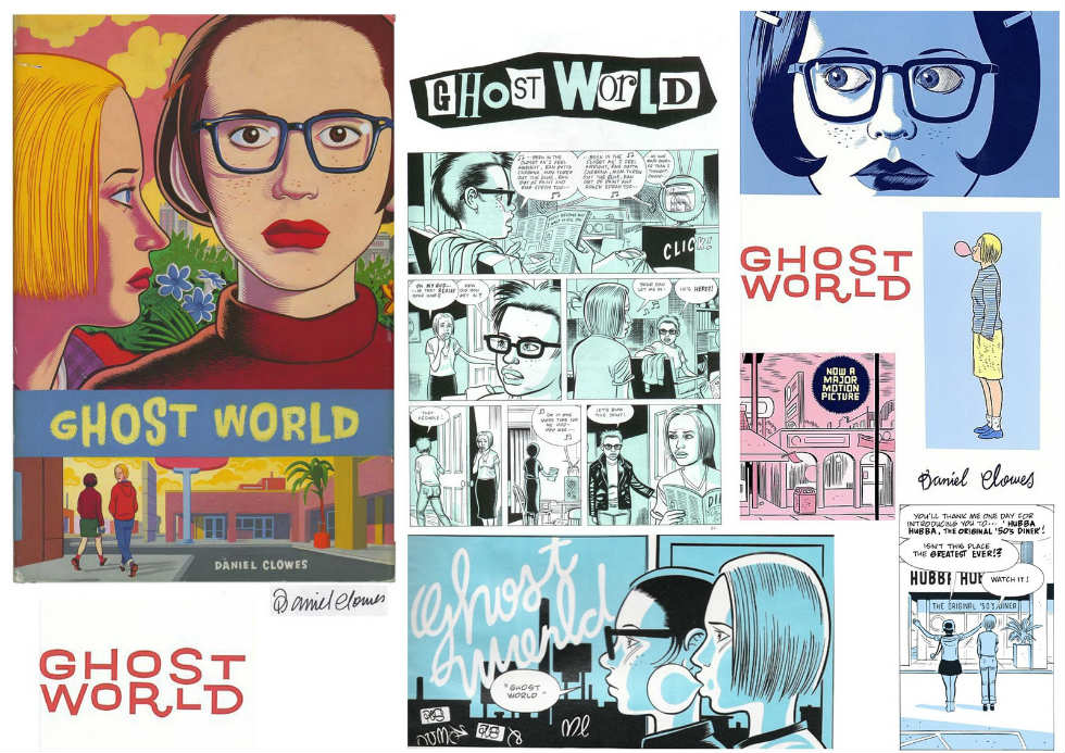 collage ghost world