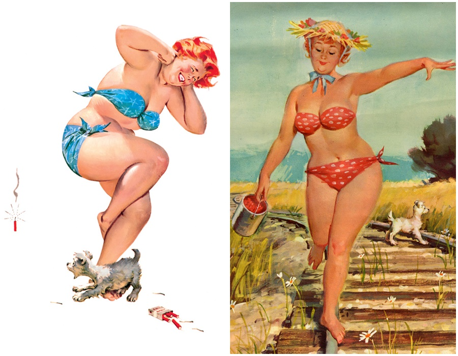 Hilda curvy pin up