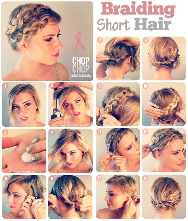 Braided-Hairstyle-for-Short-Hair
