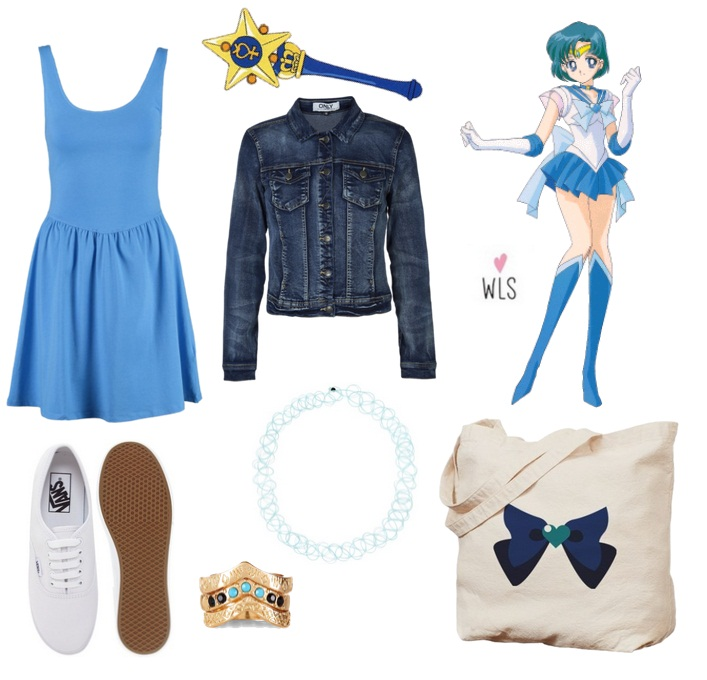 sailor moon mercury