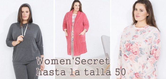 women secret tallas grandes