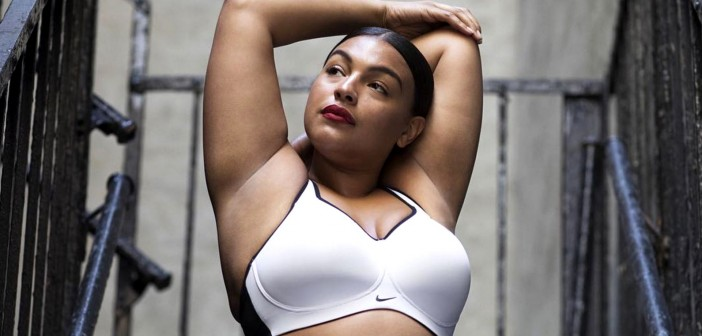 the positive response to Nike using a curvy model to talk about athletic bras