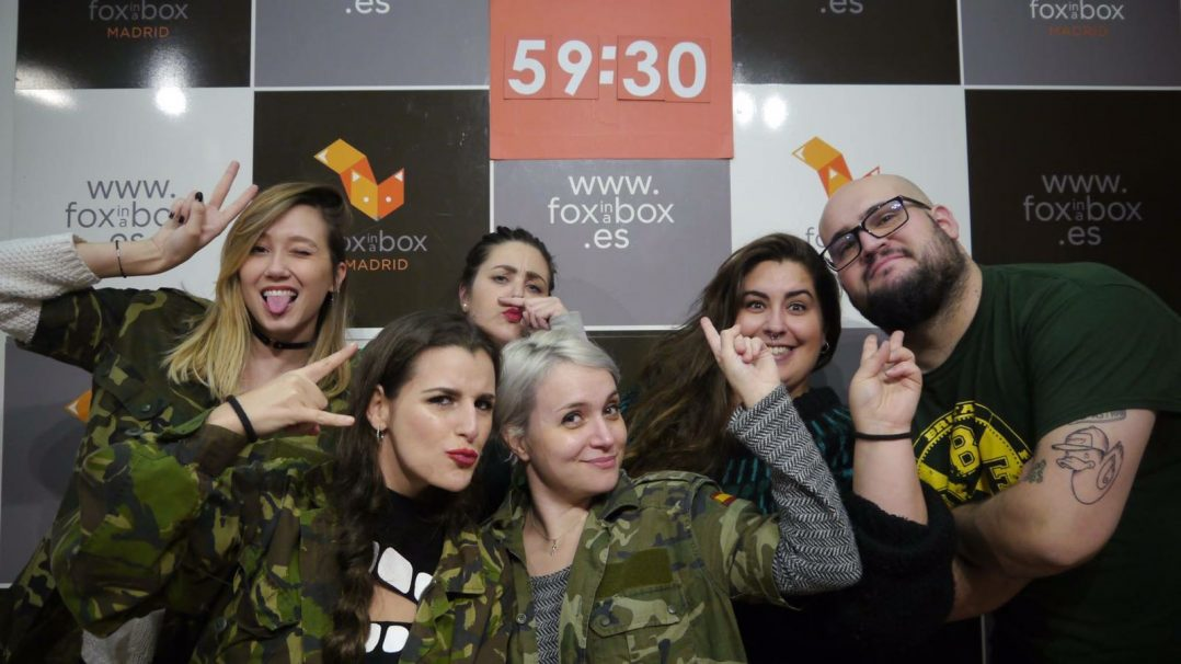 Un planazo con tus amigos: Room Escape en Fox in a Box
