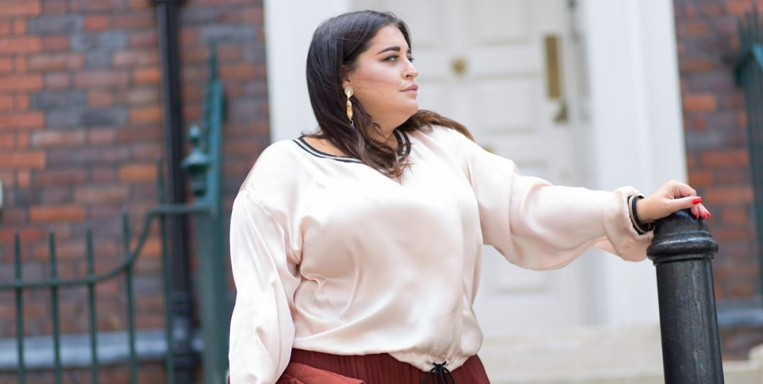 Elvi Wide Leg Trousers Uk Plus Size Blogger Danielle Vanier 9