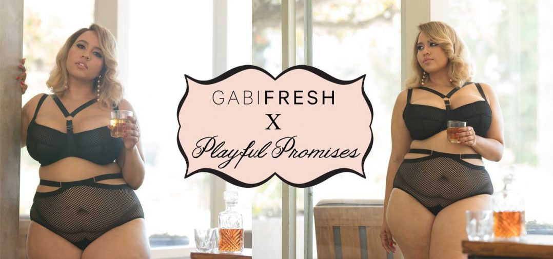 GabiFresh para Playful Promises: la lencería XL más bonita EVER