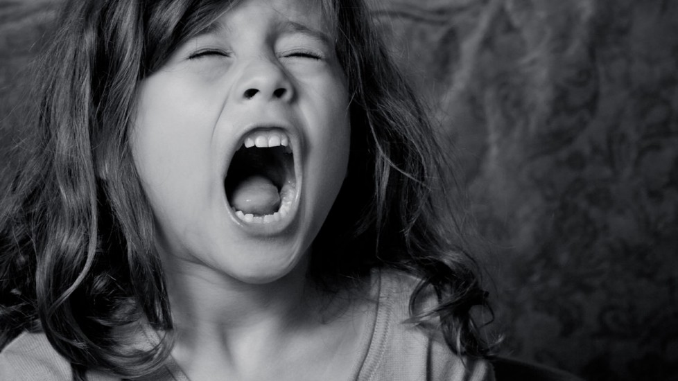 Little-girl-screaming-When-employees-bring-personal-drama-into-the-workplace
