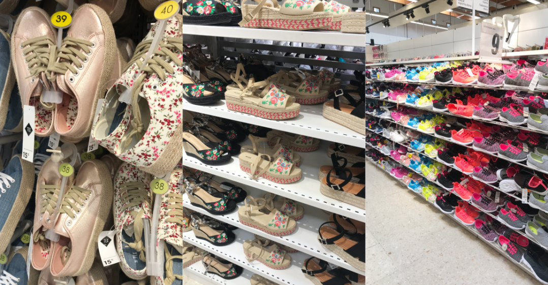 Carrefour: zapatillas abril 2018