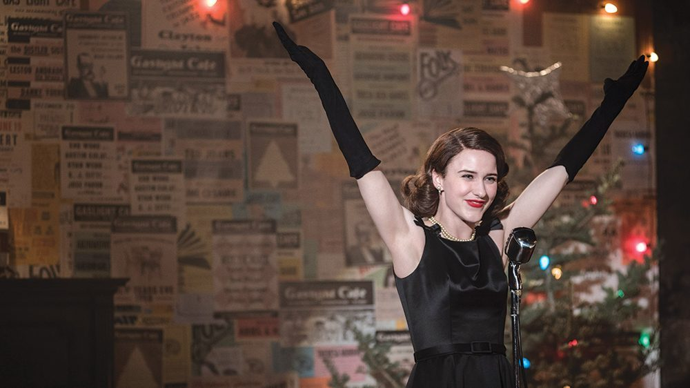 The Marvelous Mrs. Maisel. La seriaza para devorar estas navidades.