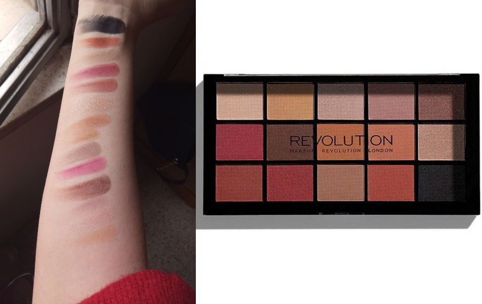Opinión: paleta de Makeup Revolution Reloaded Iconic Vitality