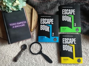 Si te molan los Escape Rooms, vas a flipar con estos Escape Books
