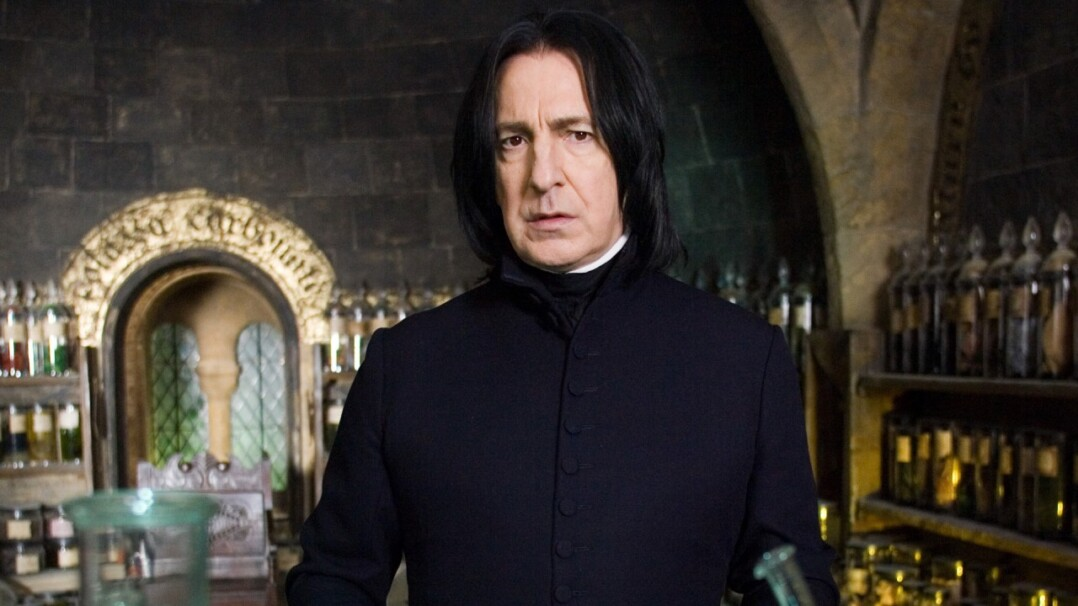 Sí, Snape es mi favorito de la saga Harry Potter